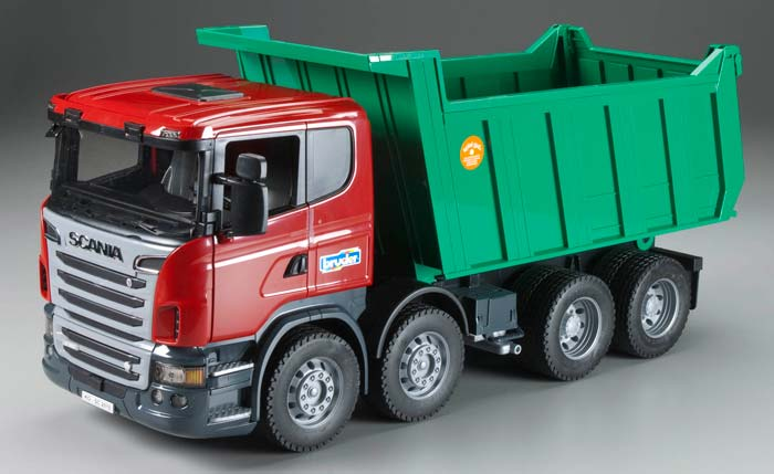 Bruder 3550 Scania R-Series Tipper Truck