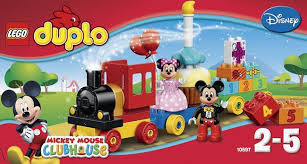 Lego 10597 Duplo TRENOTOPOLINO
