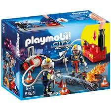 Playmobil 5365 POMPIERI - PERS.IN AZIONE