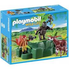 Playmobil 5415 ANIMALI - GORILLA E OKAPI