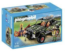 Playmobil 5558 AVVENTURA - PICKUP CON CANOA