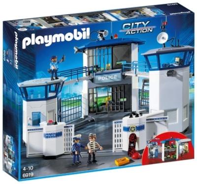 PLAYMOBIL 6819 POLIZIA-STAZIONE+PRIGIONE
