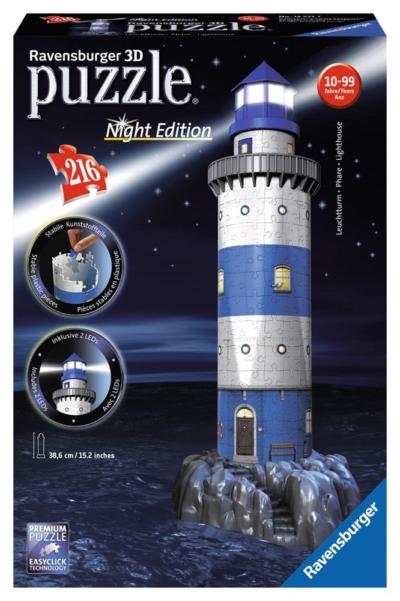 RAVENSBURGER 12577 PUZZLE3D FARO NIGHT EDITION 216 PZ