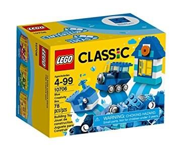 Lego 10706 4+ Classic Blu Creativi