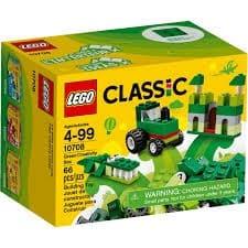 Lego 10708 4+ Classic Verdi Creativi