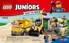 Lego 10734 4+ Cantiere Di Demolizione