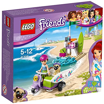 Lego 41306 Friends Scooter Da Spiaggia