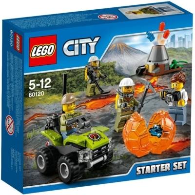 Lego 60120 Vulcano Starter Set City