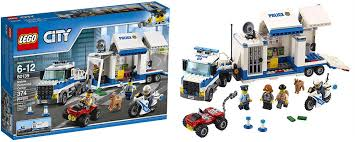 Lego 60139 City Polizia Comando Mobile