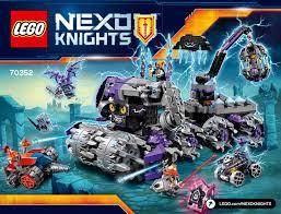 Lego 70352 Nexo Quartier Generale Jestro