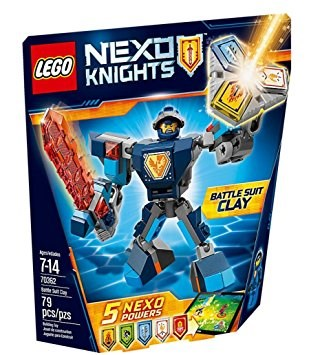 Lego 70362 Nexo Pers.clay