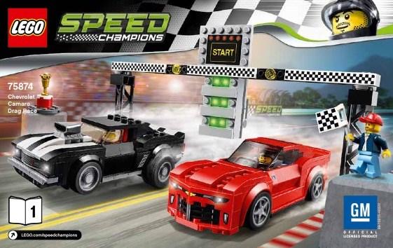 Lego 75874 Speedgara Accellerazione