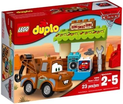 Lego Duplo Cars 3 Capanno Di Cricchetto