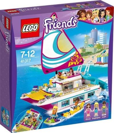 Lego Friends Catamarano