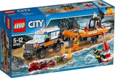 Lego City Guardia Costiera Unita' Di Risposta